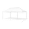 Promotional Advertising Outdoor Event Trade Show Pop-Up Tent Mobile Advertising Marquee. Mock Up, Template. Illustration Isolated On White Background. Ready For Your Design.