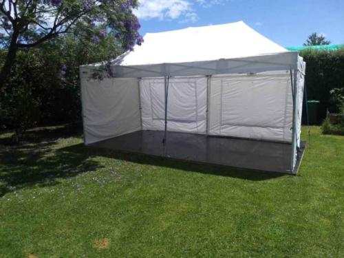 Staging and Marquee